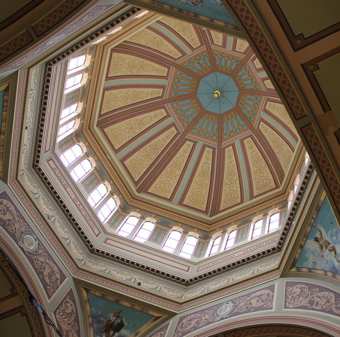 DOMED CEILING ROYAL EXHIBITION BUILDING MELBOURNE