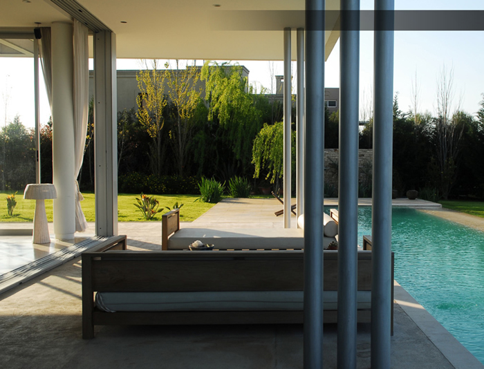 pool swimming contemporary barrionuevo sierchuk agua house