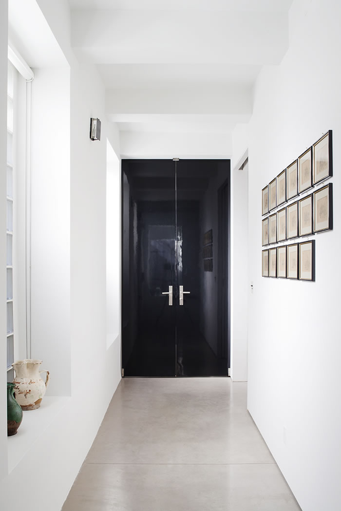 richardson dondoe black glossy double doors
