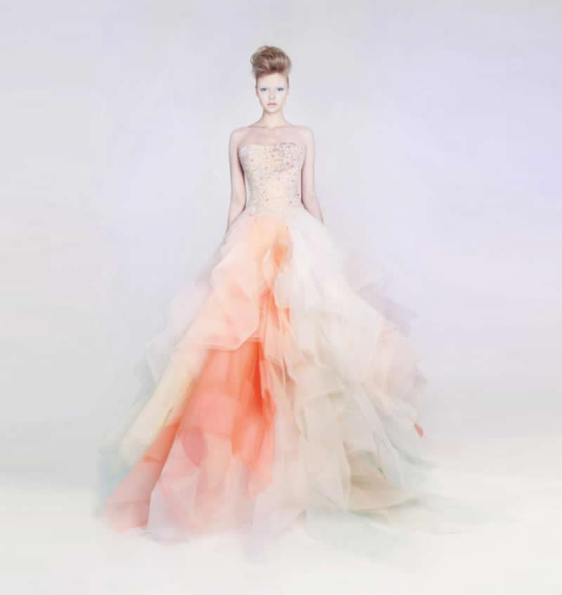 rami kadi blush gown