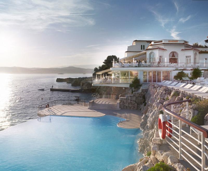 hotel du cap edden roc france swimming pool infinity edge