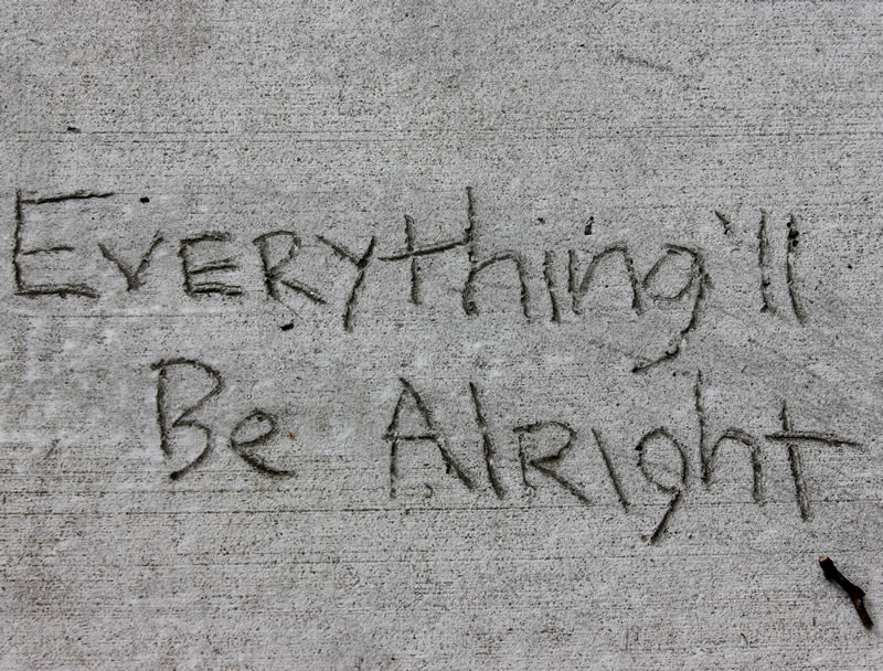everthing will be alright quote