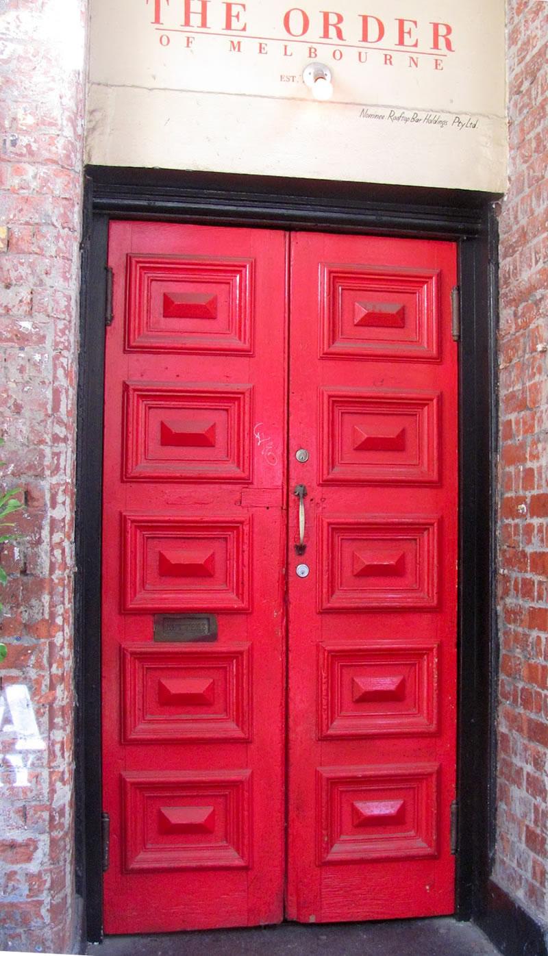 red front door melbourne