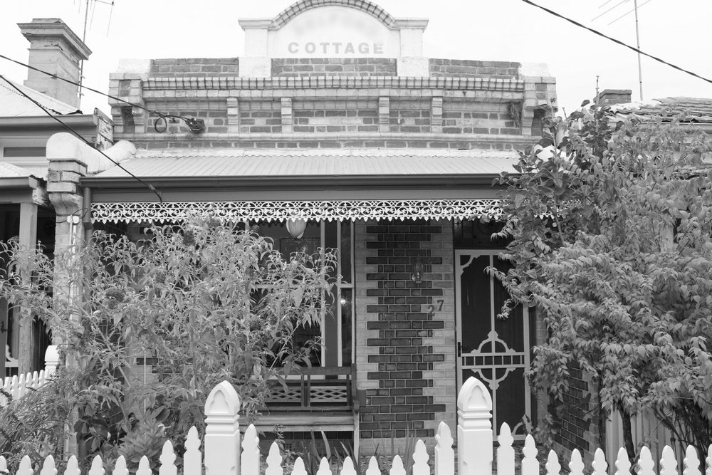 SOUTH MELBOURNE - Victorian Botanical Conservatory.High Victorian terrace .Renovation, extension.