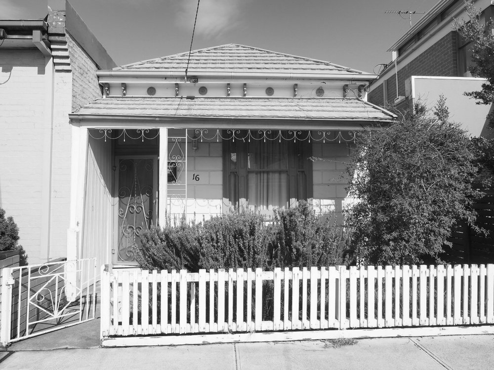 BRUNSWICK EAST - Turn of the Century Jewel Box.Terrace house. Renovation, alteration, 2nd level addition.