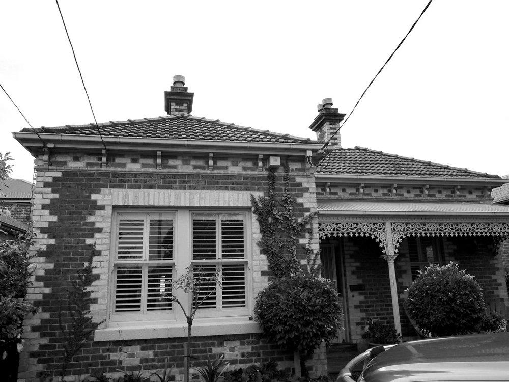 BRIGHTON - Victorian Hawthorn brick villa.Renovation, alteration, addition.