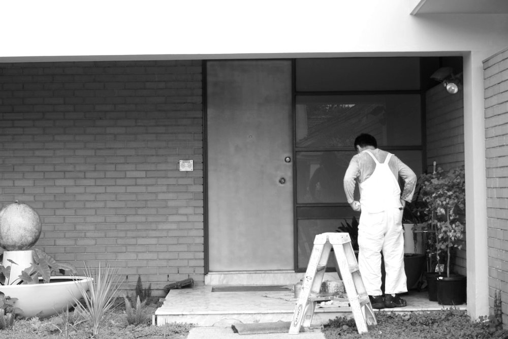 CAULFIELD - Brutalist/ International Modern house.Restoration, renovation.