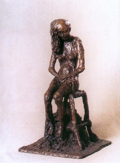 Samuel's sculpture of Ruth Dorfman