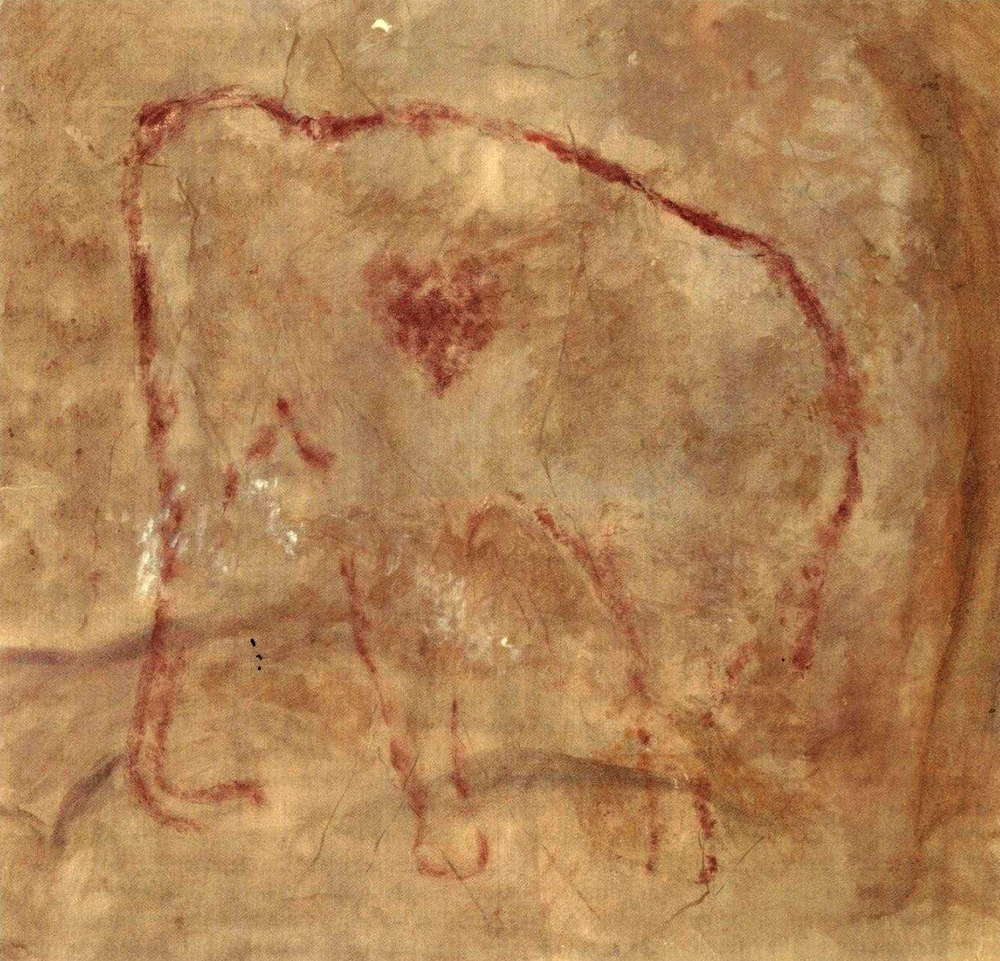 Cave painting from  Cueva del Pindal