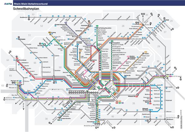 Frankfurt U-Bahn/S-Bahn.