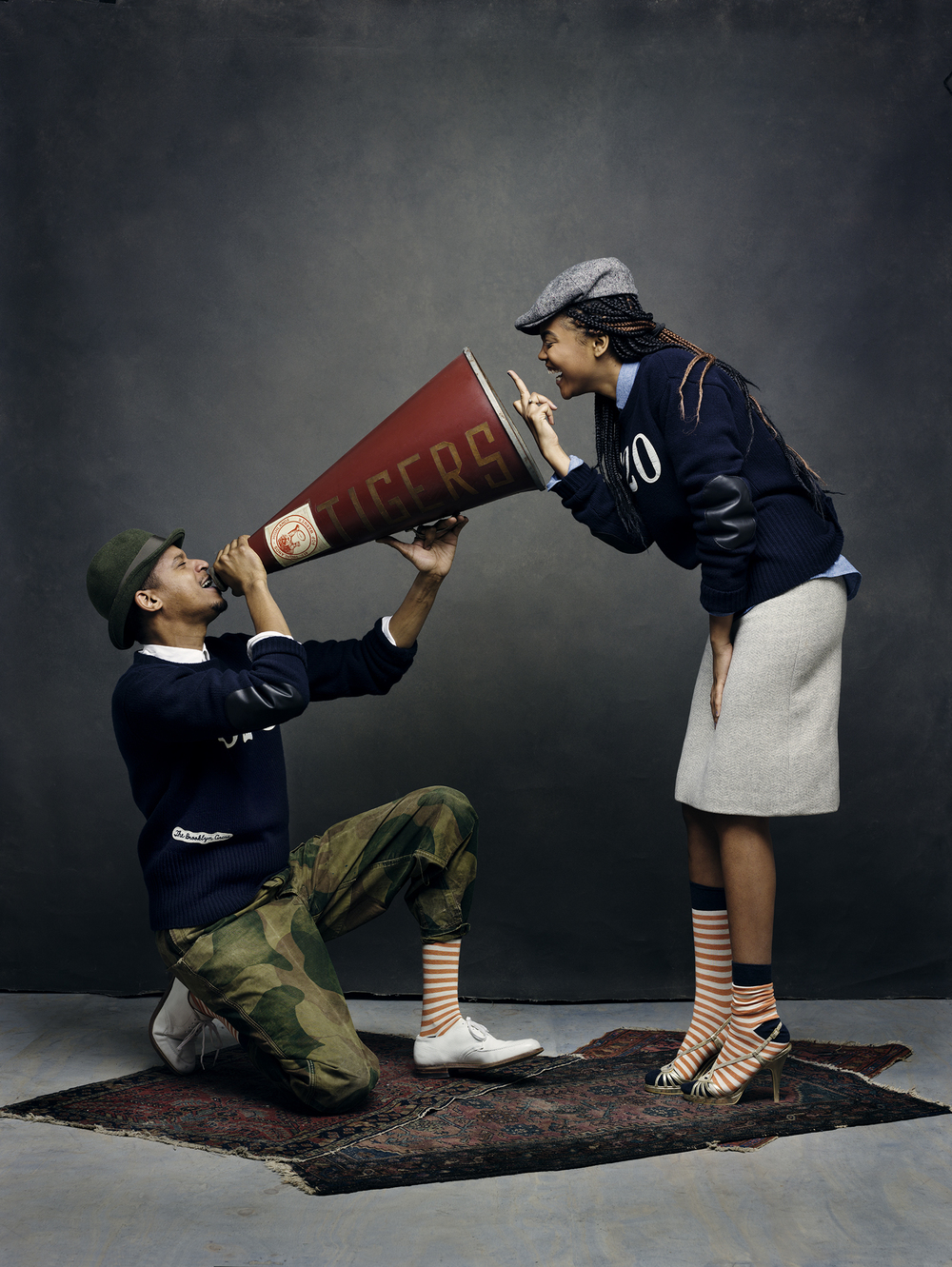 Chef Roble and his sister Justine