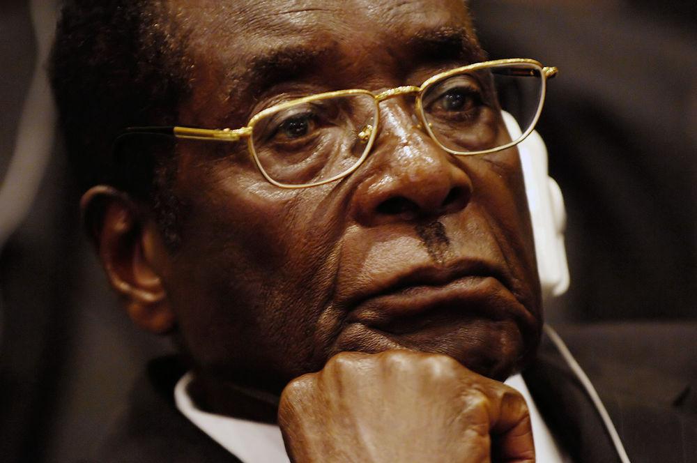 Zimbabwean longtime president Robert Mugabe.