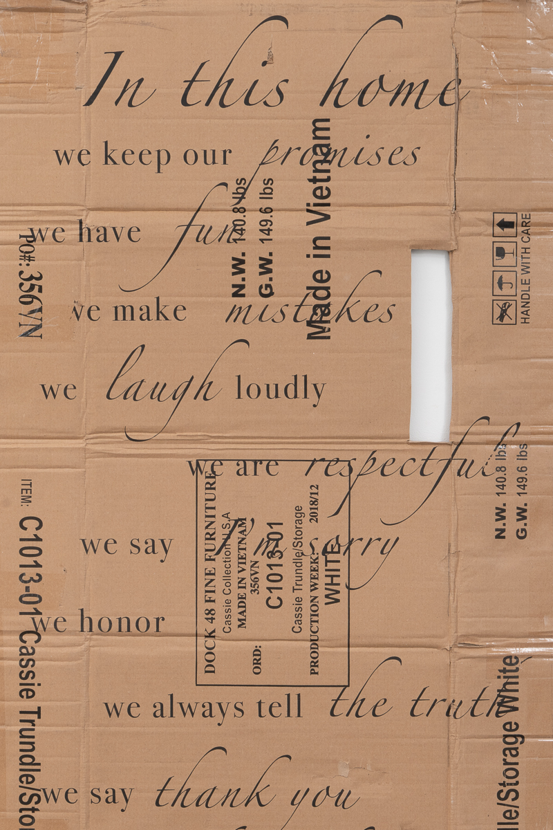 We Keep Our Promises (Detail)
