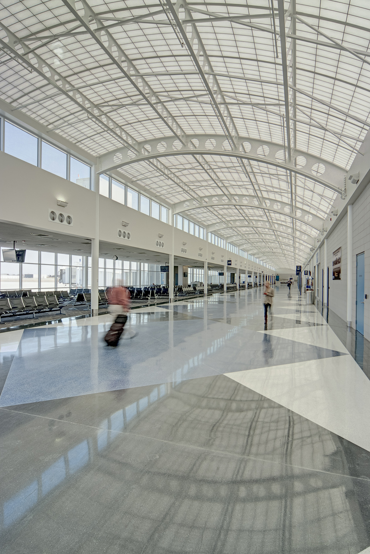 south bend airport concourse a expansion