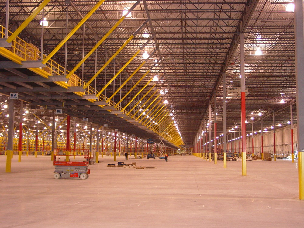 lowe's distribution centers