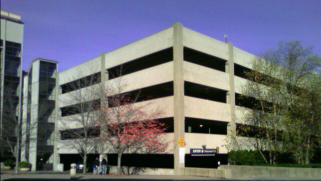 Northwestern Avenue Parking Garage - a precast, prestressed concrete double tee structure