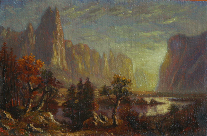 Untitled (after Bierstadt)