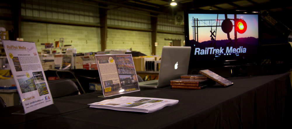 RailTrek Media at the Great Scale Model Train Show and Railroad Marketplace in October 2012