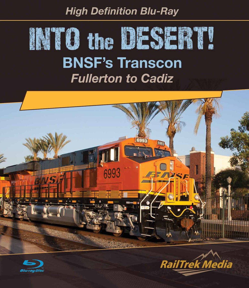"""Into the Desert!"" Program HD Blu-ray Cover"