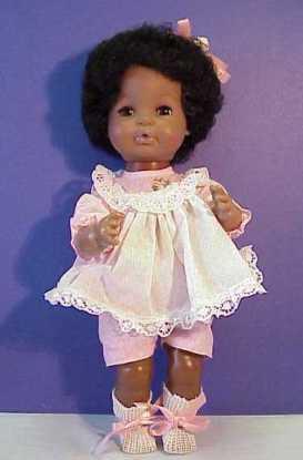 Vintage black doll. Photo courtesy of www.franshouseofdollsandtoys.com
