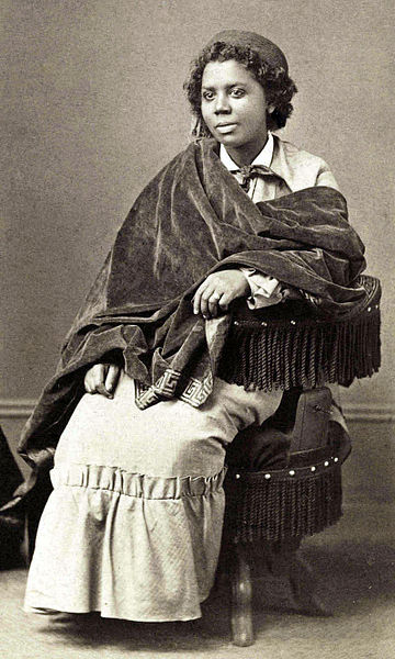 Mary Edmonia Lewis (ca. July 4, 1844–September 17, 1907)