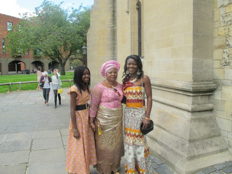 Maryam, her sister, and her mummy