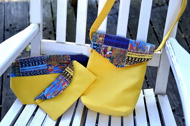 Sacred Colorer cargo bag, zip clutches & eyeglass case