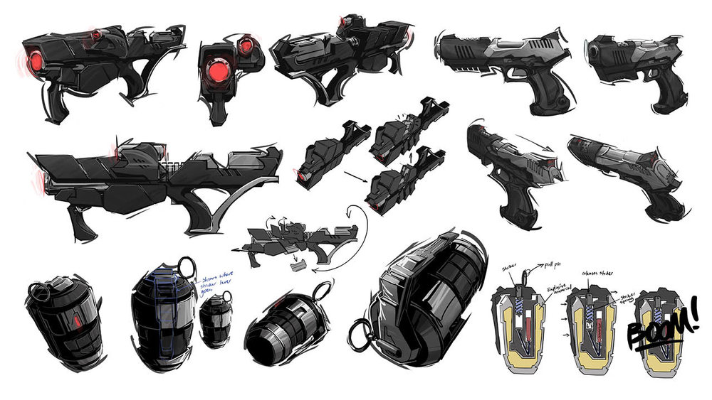Reversion: Weapons Concepts