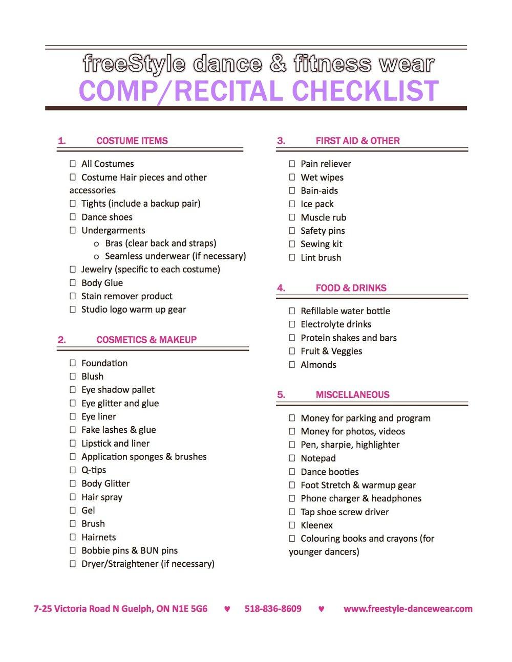 Recital Checklist.jpg