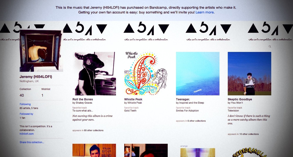 Thank you Bandcamp  And damn you  — High Five For…