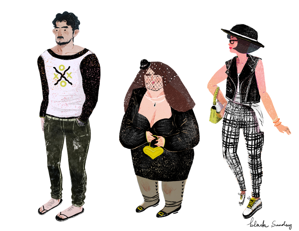 lifestyle drawing charactor black.jpg