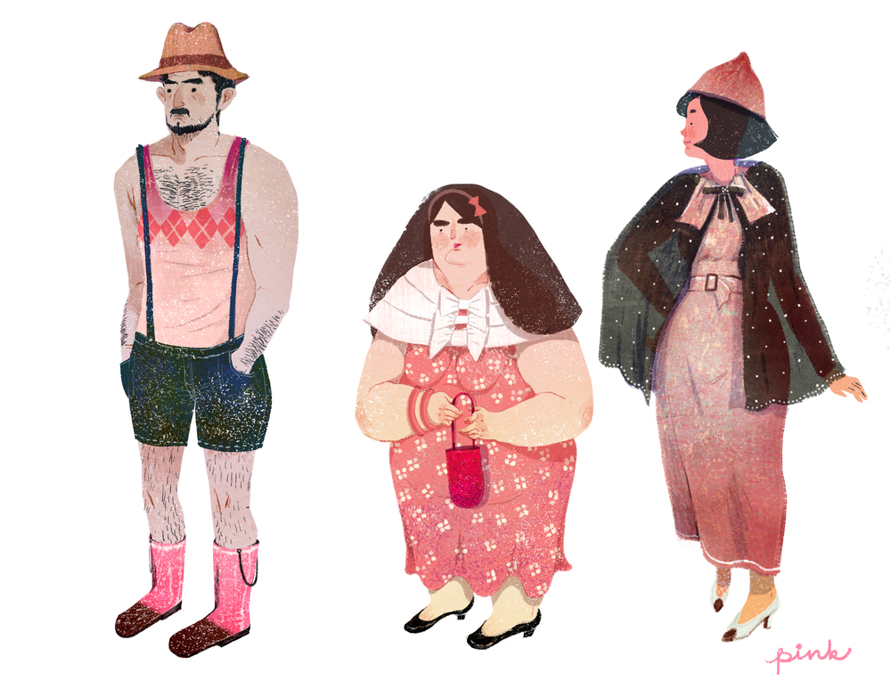lifestyle drawing charactor pink copy.jpg