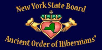 Ancient Order of Hibernians Division 7 - Thank you to Sean Claffey, President of Division 7 of the Ancient Order of Hibernians for all your work on behalf of the NYC Basket Brigade!!!