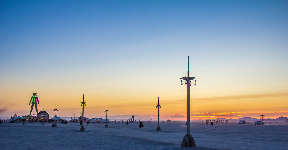 Burning man, September 2015