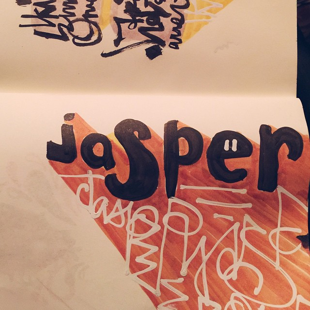 29/100 #100dayproject #ink #brush #lettering #handlettering #script #watercolor #winsornewton #pentel #drawing #sketch