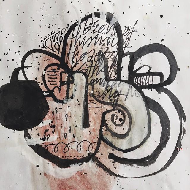 Doodle sovup 52/100 #100dayproject #ink #doodle #drawing #sketch