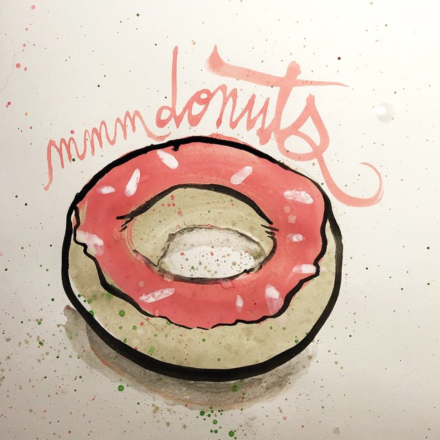 mmmmmmm donuts. #donutday 58/100 #100dayproject