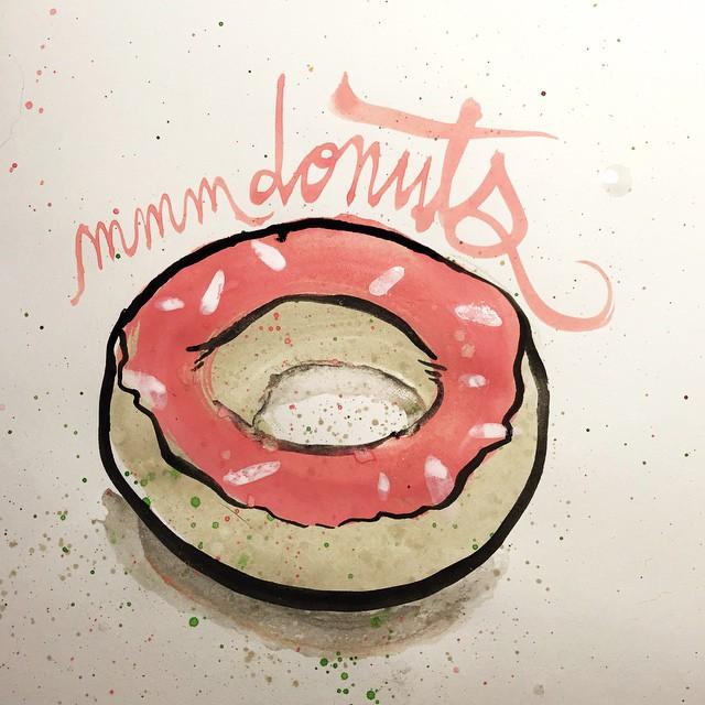 mmmmmmm donuts. #donutday 58/100 #100dayproject