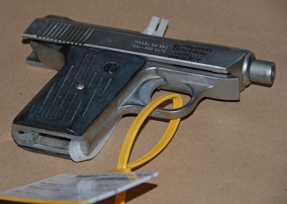 THE PICTURED FIREARM WAS TAKEN IN CONNECTION TO INCIDENT #1 - SEE BELOW. (PHOTO COURTESY OF BPDNews)