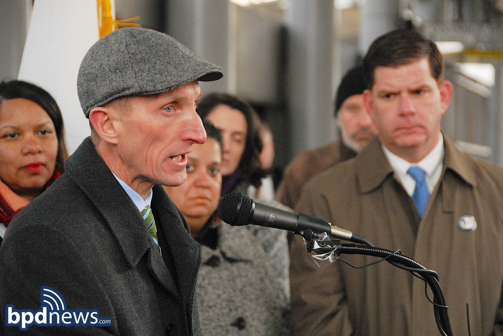 COMMISSIONER EVANS AND MAYOR WALSH JOIN TOGETHER IN SUPPORT OF THE LIPSTICK INITIATIVE