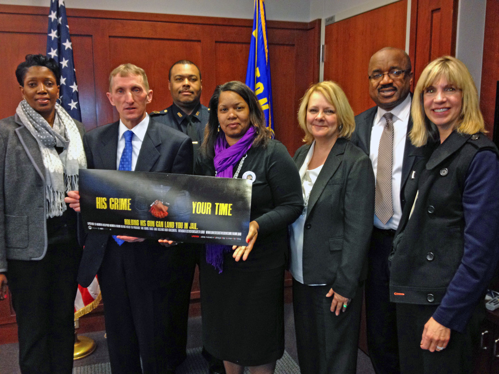 COMMISSIONER EVANS AND CHIEF GROSS MEET WITH OPERATION LIPSTICK ORGANIZERS