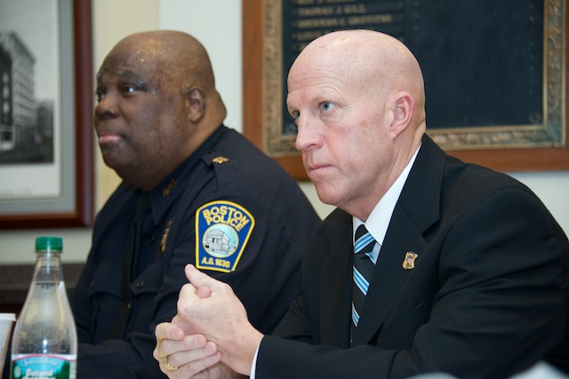 Superintendent Robert Merner (right). Photo Courtesy of Bpdnews.com
