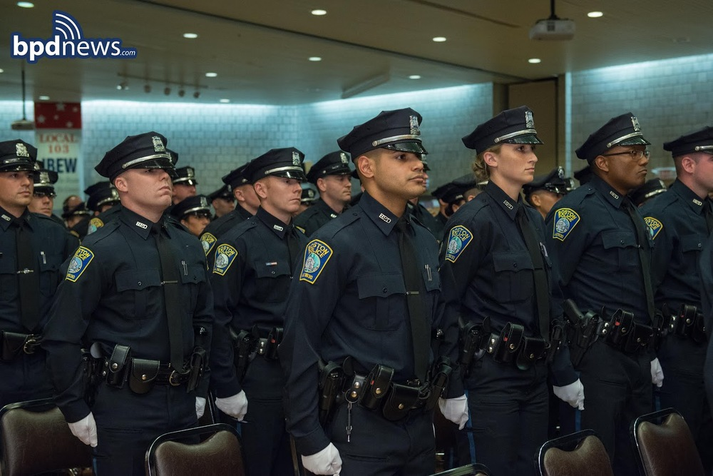 Bpd Recruit Class 54 14 Graduation Ceremony Bpdnews Com