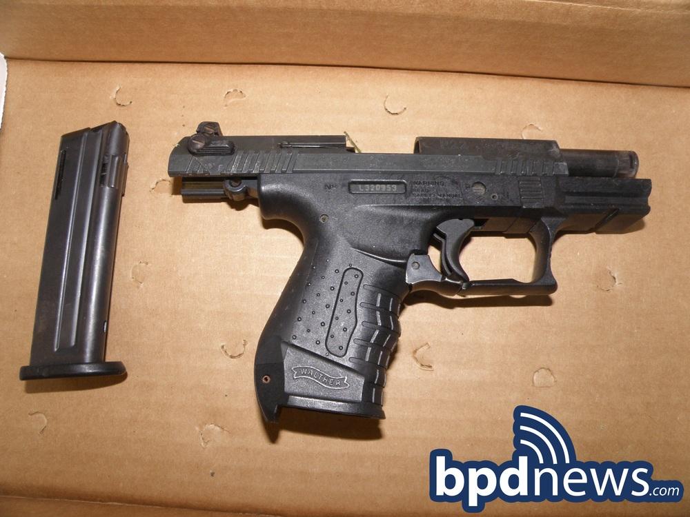 Gun Taken in Incident #2