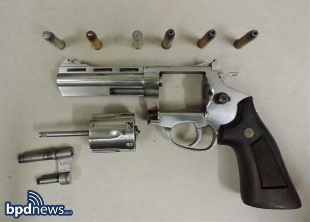 (Gun #1) a silverRossi .38 Caliber Revolver