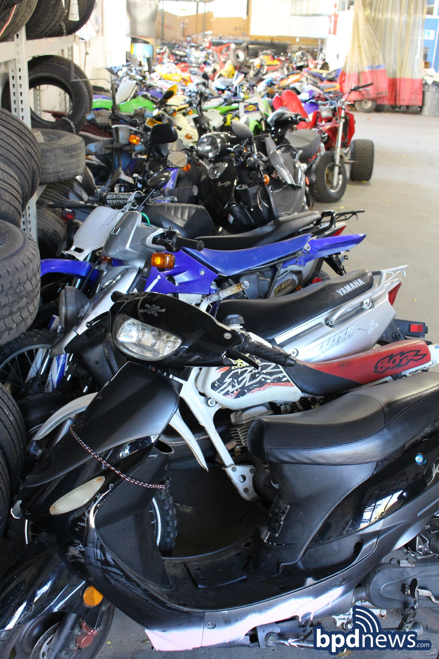 officers arrest seven and seize seven dirt bikes in mattapan in