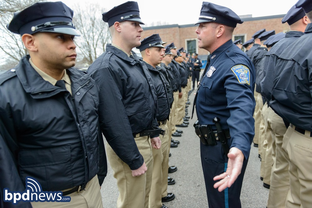 This week, over 80 Recruit Officers began their training at the Boston Police  Academy in Hyde Park as members of BPD Class 55-15.