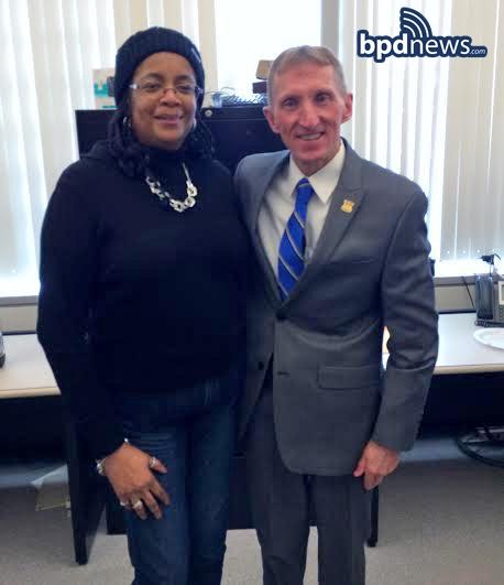 Good Luck & Good Bye: BPD Officer Thia Stewart Retires after