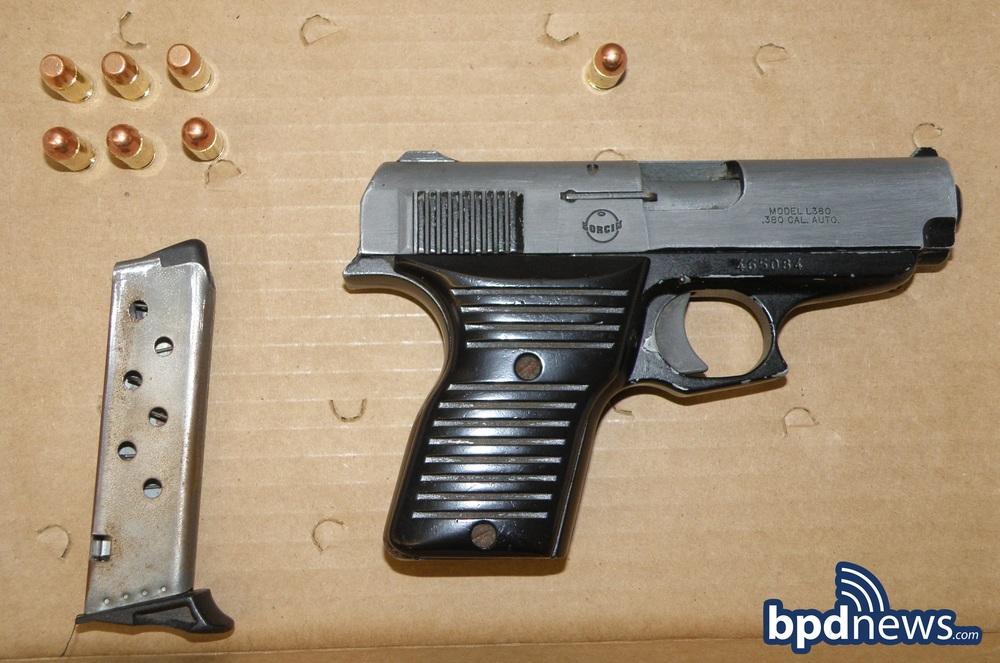 One Less Gun Officers Arrest One Recover Loaded Firearm