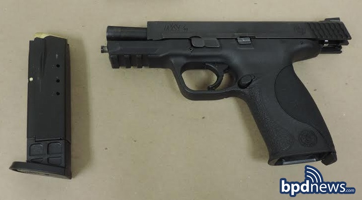 Recovered Firearm C-6